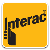 Interac debit available in your home